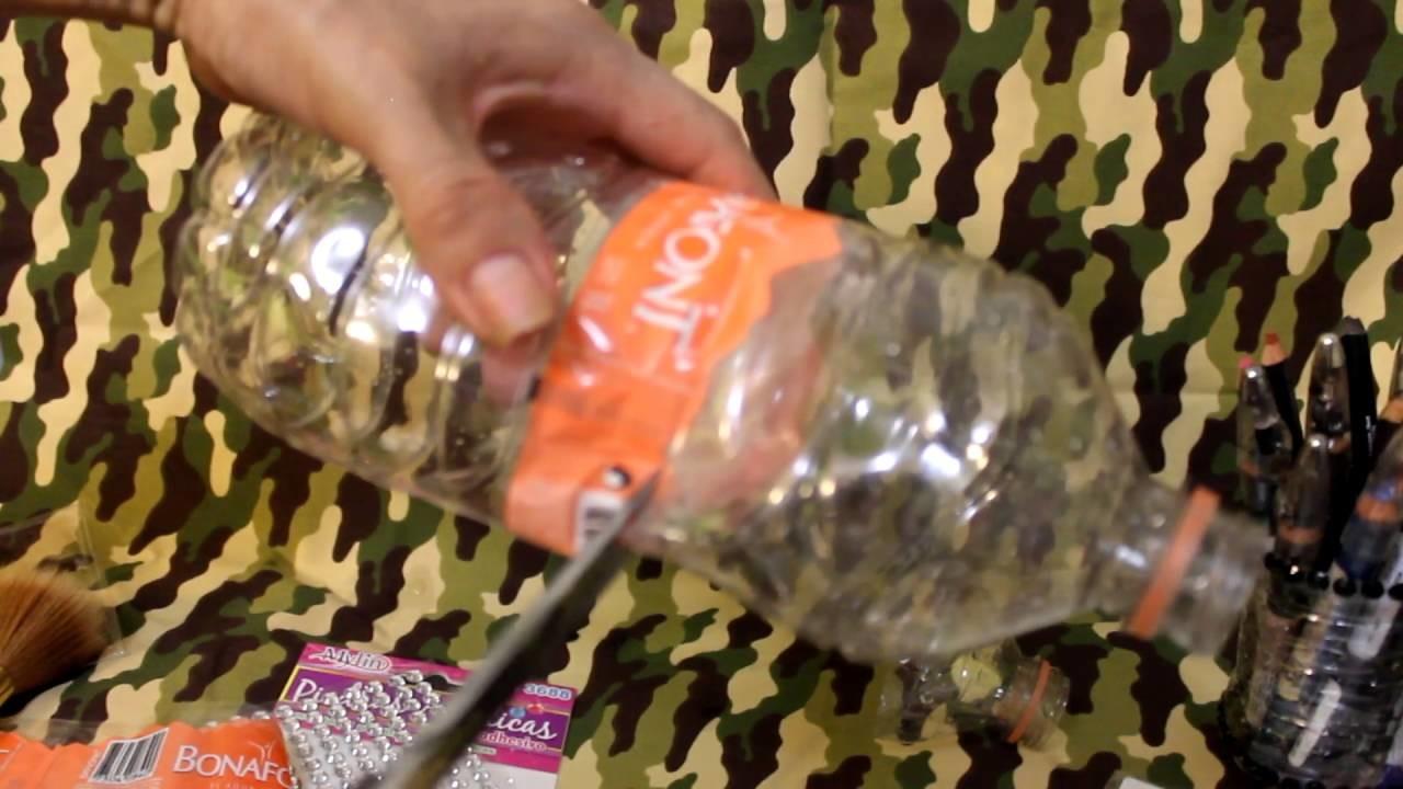 Manualidades con envases de agua