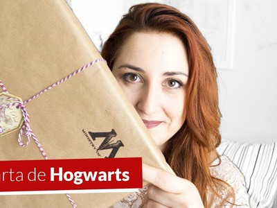MI CARTA DE HOGWARTS | Wizabox unboxing