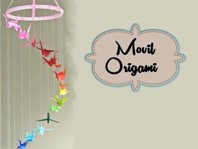 Origami Movil ●ω●. Decora tu cuarto♥.decorate your room♥