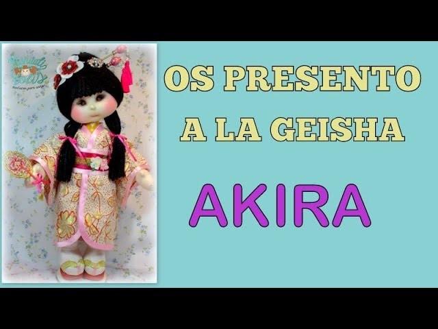Os presento a la nueva geisha Akira , video 308
