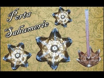 Porta Sahumerios De Porcelana Fria