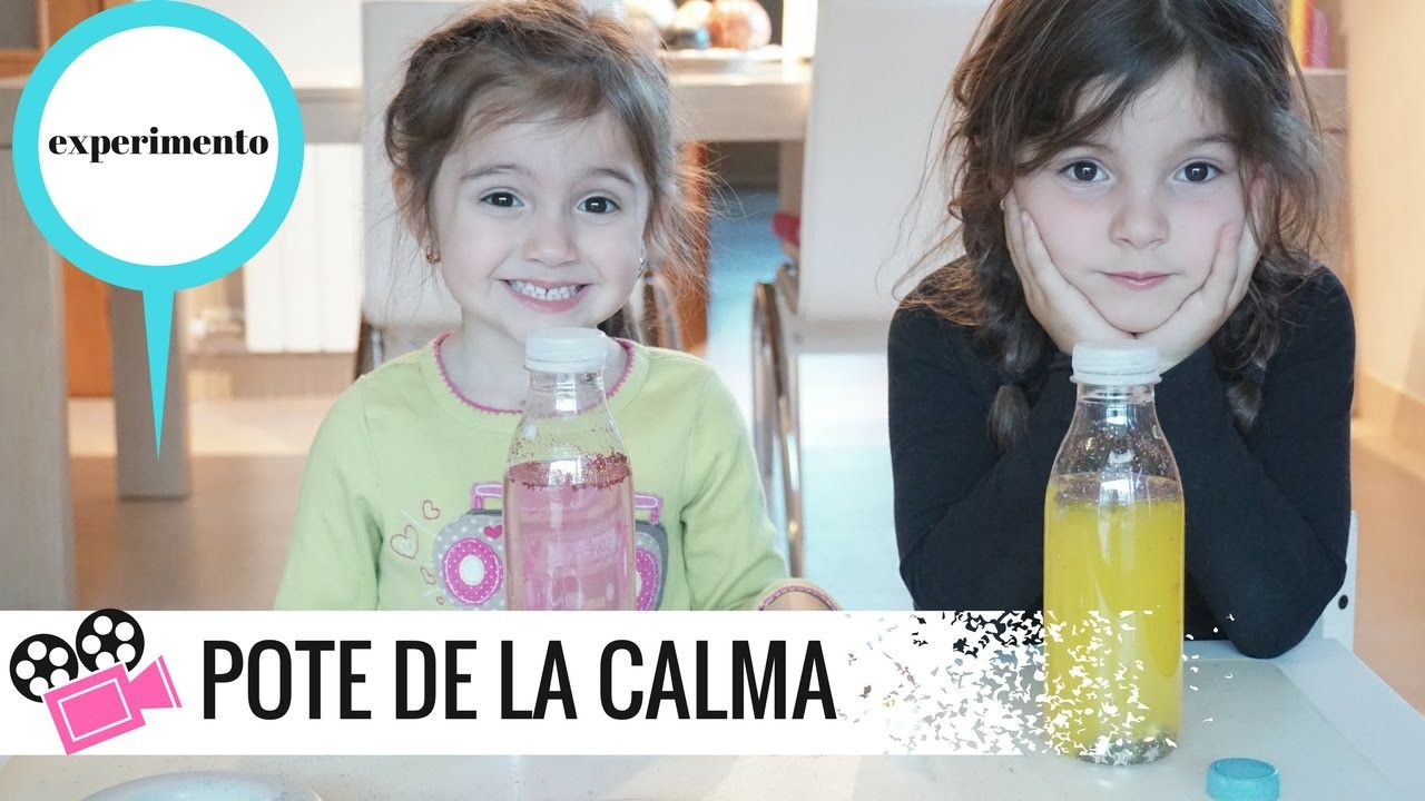TUTORIAL CÓMO HACER UN POTE DE LA CALMA PARA NIÑOS