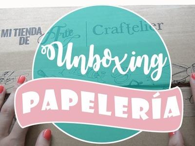 UNBOXING PAPELERIA REBAJAS. MI TIENDA DE ARTE. LETTERING, SCRAP Y BULLET JOURNAL