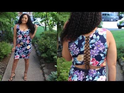 Video Petición.DIY Vestido con lace up en la espalda.Lace up back dress