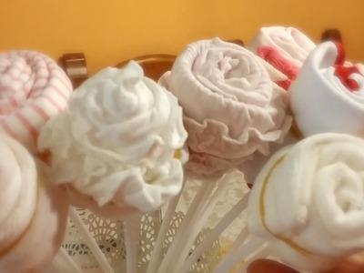 ASMR .: Tutorial ???? Regalo para bebe ????. bouquet ropa ???? . New Born :.
