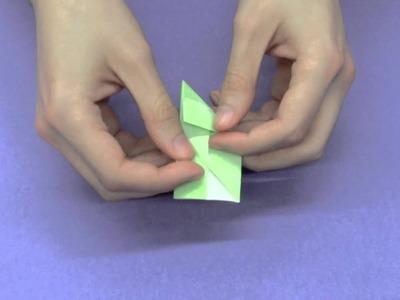 Cómo construir un cubo usando módulo sonobe