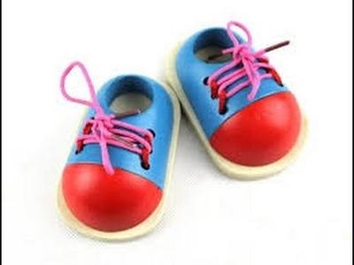 Como Fabricar Zapatos para Muneco - El Modelado - Hogar Tv  por Juan Gonzalo Angel