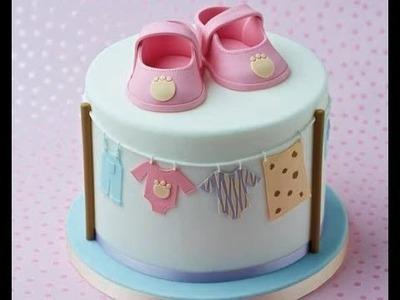 Como Hacer Decoracion de Cupcake en Crema y Pastillaje- HogarTv por Juan Gonzalo Angel