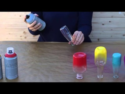Cómo hacer el efecto ombré con Chalk Paint en spray