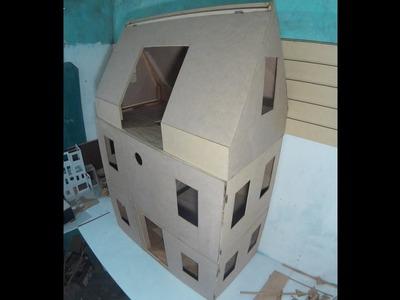 Como hacer nuestra casa de muñecas, solo un paso de terminar
