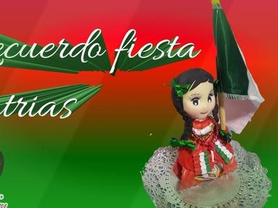 COMO HACER RECUERDO FIESTAS PATRIAS MEXICANO