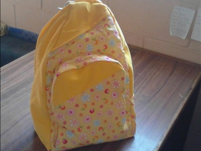 Como hacer una mochila de tela