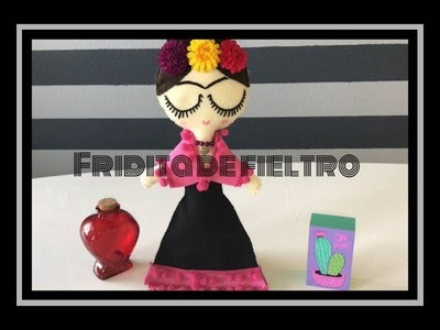 Cómo hacer una muñeca de Frida Kahlo