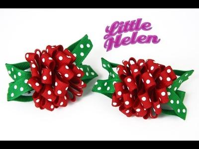 Cómo hacer una rosa con cinta gross