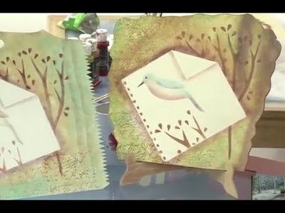 Como Pintar un Cuadro con Stencil - Estarcido - Hogar Tv  por Juan Gonzalo Angel