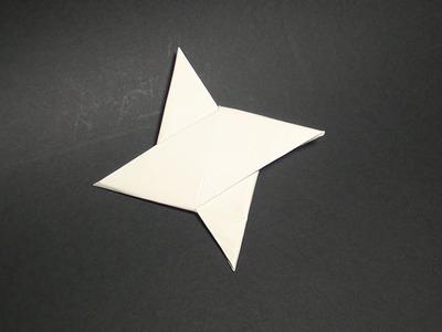 Como se hace una estrella ninja origami_origami shuriken