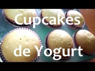 Cupcakes de yogurt paso a paso | ♥L.C.M ♥