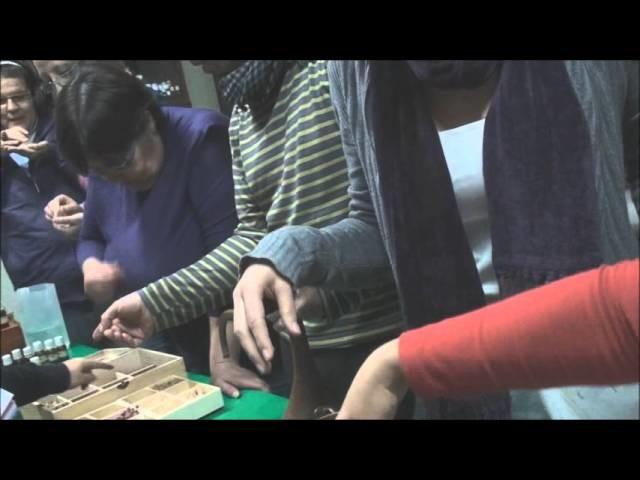 Destilación de plantas aromáticas con alambique de cobre