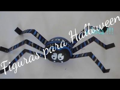 Dia de muertos.Halloween araña de unicel