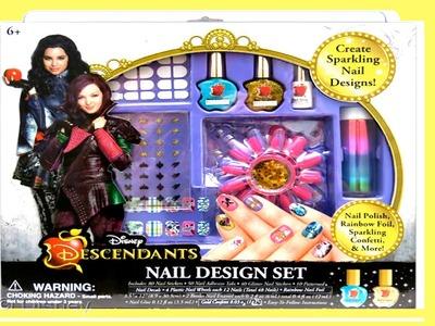 Disney Descendientes Mal y Evie Diseño de Uñas - Juguete de Los Descendientes