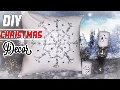 DIY Glam para Navidad |Cojin y velas Navideñas|Nady