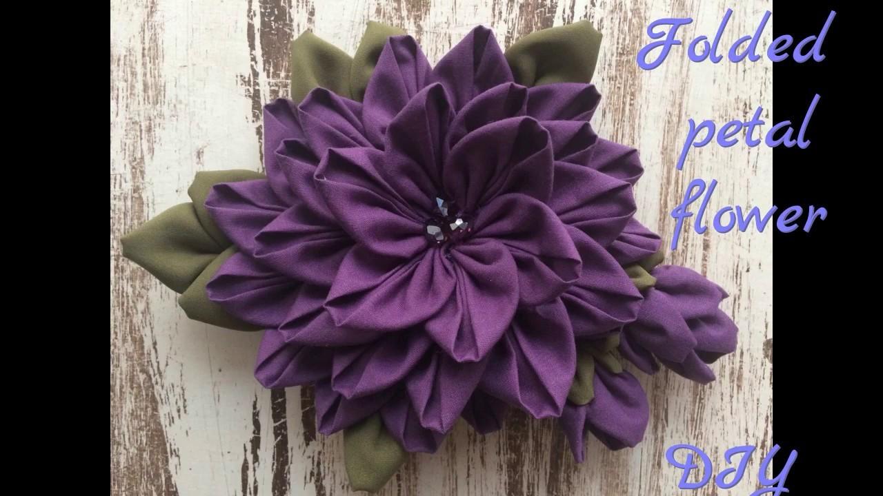 Fabric Flower- Flor de Tela