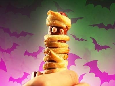 Halloween: originales saladitos de salchicha con esta receta de salchichas momia