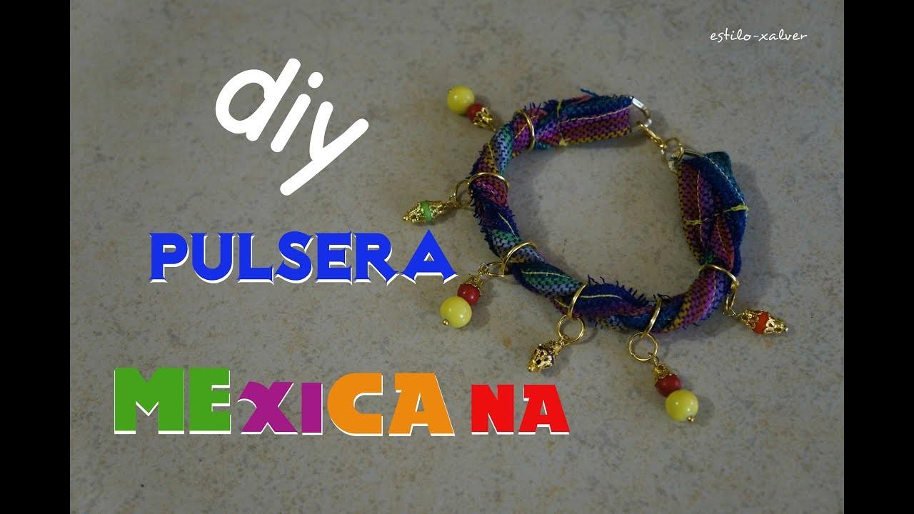 HAZ PULSERA MEXICANA PARA FIESTAS PATRIAS *FÁCIL*DIY*