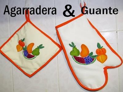 Juego de cocina | Guante y Agarradera | Paso a paso