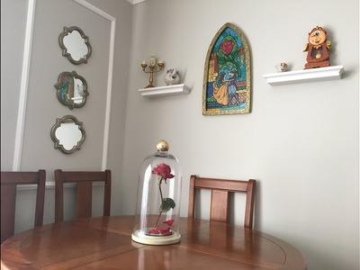 La Bella y la Bestia- Tour por mi sala inspirada en la maravillosa pelicula de Disney.