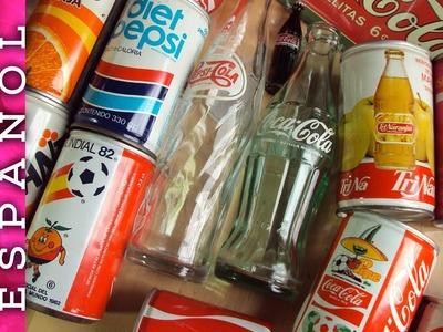 Mi colección de Coca-Cola y otros refrescos
