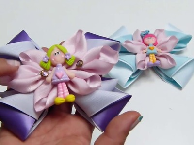 Moños y flores de cinta Gros, How to make ribbons with gros