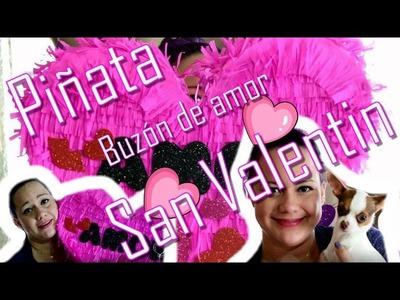 Piñata en forma de Corazón (San Valentin)