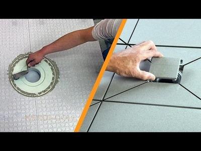 Plato de ducha a nivel de suelo con desagüe central: parte 2