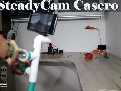 SteadyCam Casero para Telefono (Estabilizador de Video) muy Facil