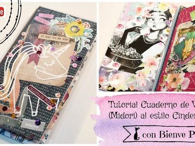 Tutorial Cuaderno de Viaje - Midori - al estilo Cinderella