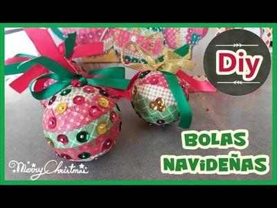 BOLAS DE NAVIDAD DIY | Yuyi's Creations