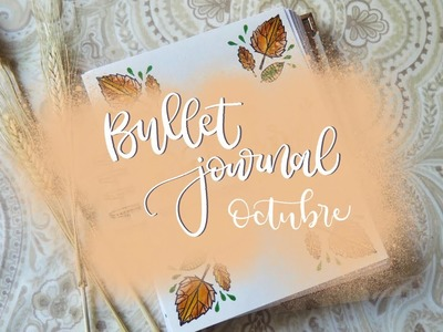 Bullet Journal Octubre 2017