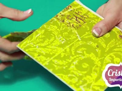 Caja Decorada con grabado y sublimación