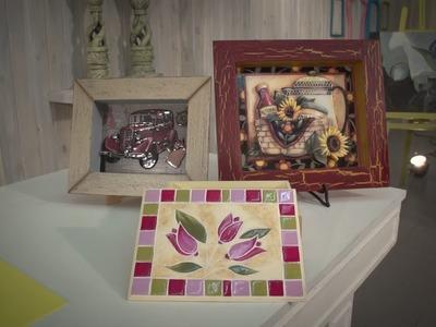 Caja imitación venecitas con Acrílicos Decorativos AD