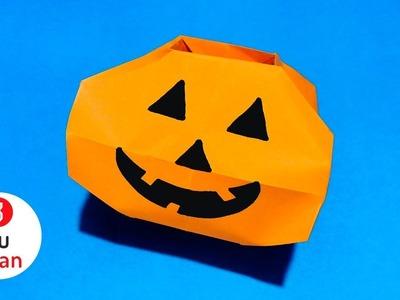 Calabaza de Papel para Dulces - Halloween | JuanTu3