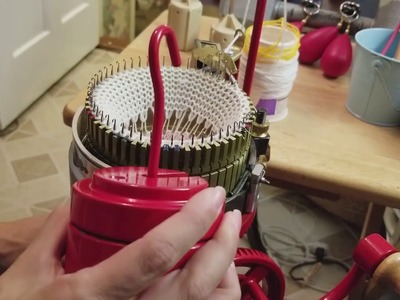 Calcetines en Maquina Circular De Los Dedos Para Arriba