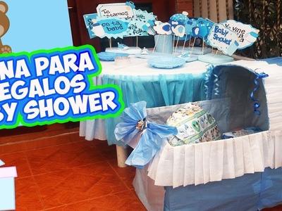COMO HACER una CUNA para REGALOS ???? BABY SHOWER ???? DIY