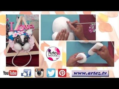 Cómo modelar un toallero para bebé con porcelana Soft-Miriam Blum