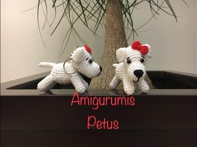 Como tejer cuerpo de la mascota de Muñeca Melany amigurumis Petus 2.2
