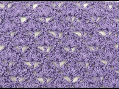 Crochet: Punto Abanico # 15