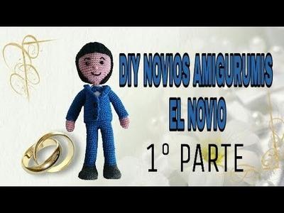 DIY NOVIOS AMIGURUMIS EL NOVIO ( PRIMERA PARTE)