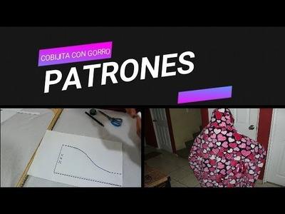 DIY PATRONES.COBIJA CON GORRO