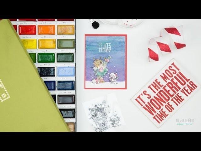 Especial de Tarjetas de Navidad 2017 - Día 1