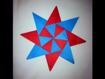 Estrella modular de 8 puntas